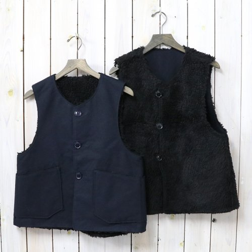 ENGINEERED GARMENTS『Over Vest-Double Cloth』(Navy)