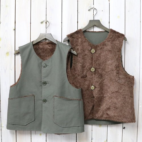 ENGINEERED GARMENTS『Over Vest-Double Cloth』(Olive)