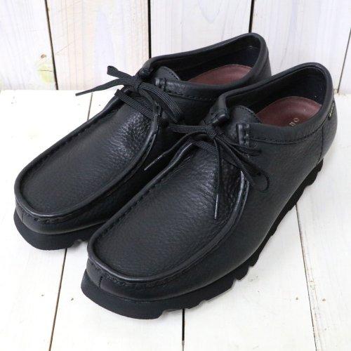 Clarks『Wallabee GTX』(Black Leather)