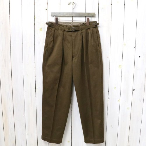 Kaptain Sunshine『Gurkha Trousers』(Light Brown)