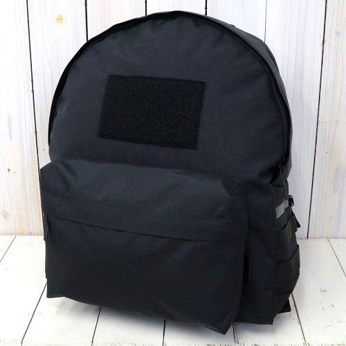 BAGJACK『NXL daypack-M molle velcro patch』(Black)