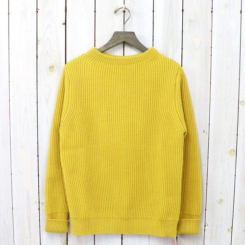 ANDERSEN-ANDERSEN『THE NAVY-CREW NECK』(Yellow)