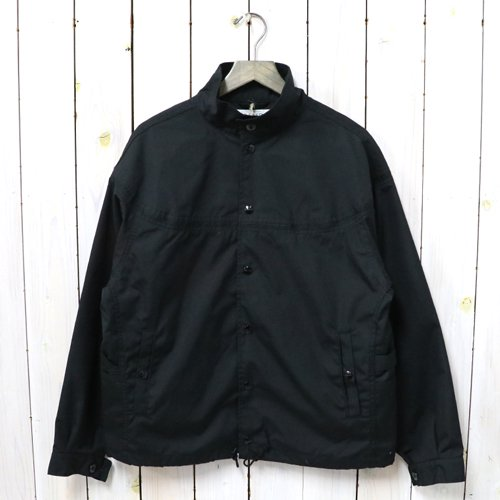 SASSAFRAS『GARDENER CAP JACKET(T/C WEATHER)』(BLACK)