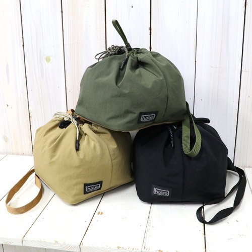 hobo『Nylon Tussah Drawstring Shoulder Bag』