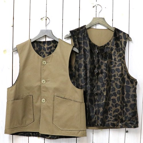 ENGINEERED GARMENTS『Over Vest-HB Twill』(Brown)