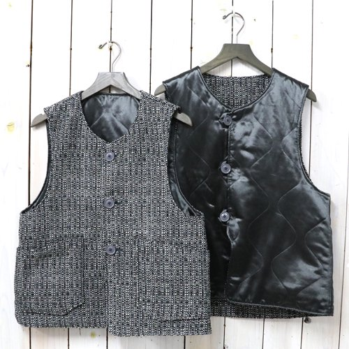 ENGINEERED GARMENTS『Over Vest-Faux Tweed』