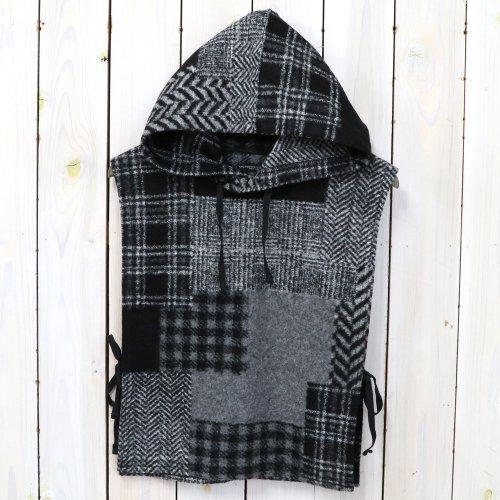 ENGINEERED GARMENTS『Hooded Interliner-Knit Patchwork HB』