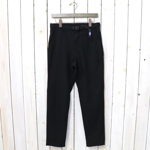 THE NORTH FACE PURPLE LABEL『Polyester Serge Field Pants』(Black)
