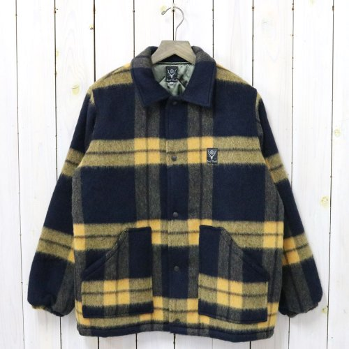 SOUTH2 WEST8『Coach Jacket-Shaggy Tweed』(Navy)
