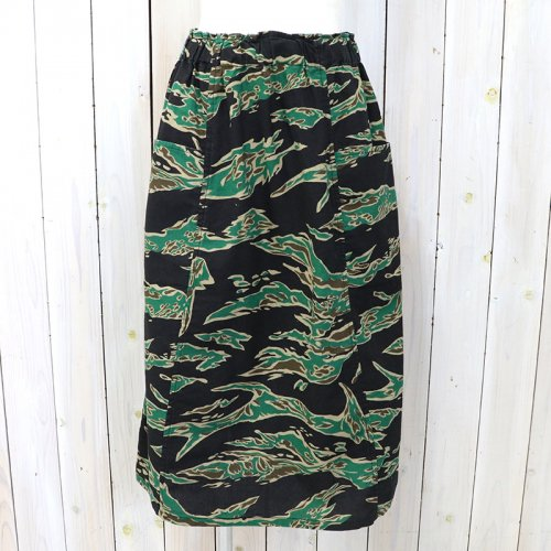 SOUTH2 WEST8『Army String Skirt-Flannel Pt.』(Tiger Camo)