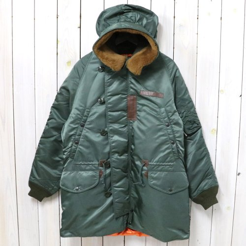 "Rocky Mountain Featherbed ""GRAND TETON""『GT N-3 Parka VTG Twill』"