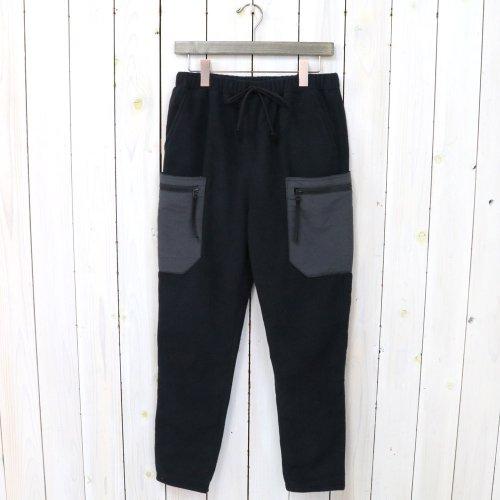 hobo『POLARTEC WIND PRO Fleece Pants』(Black)