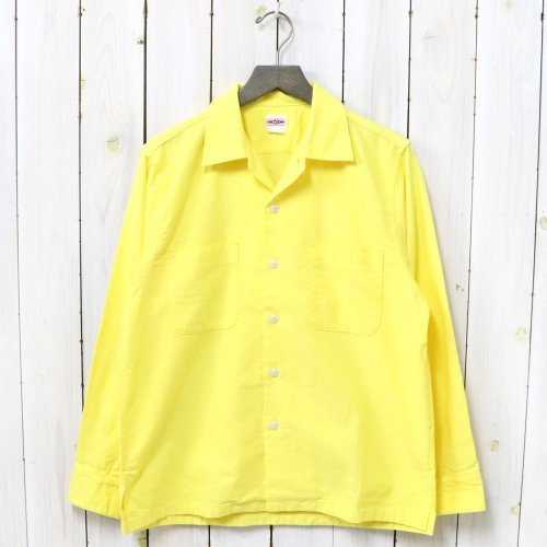 BIG YANK『1950 SHIRTS-CHAMOIS』(YELLOW)