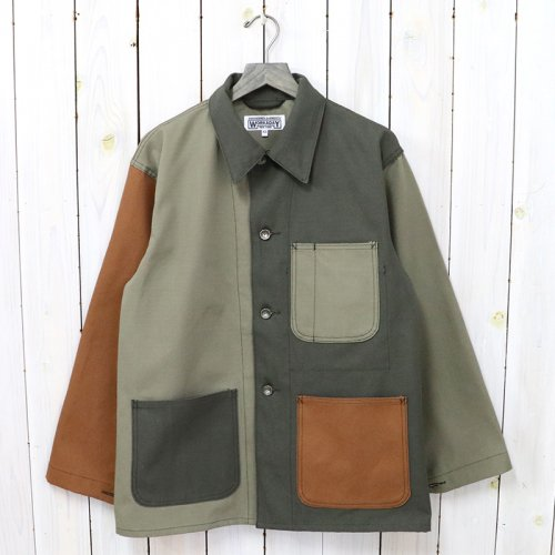 ENGINEERED GARMENTS WORKADAY『Utility Jacket Combo-Cotton Ripstop』