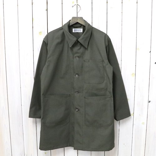 ENGINEERED GARMENTS WORKADAY『Shop Coat-Cotton Ripstop』(Olive)