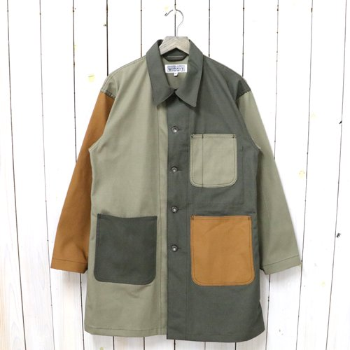ENGINEERED GARMENTS WORKADAY『Shop Coat Combo-Cotton Ripstop』