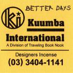 KUUMBA『incense』(BETTER DAYS)