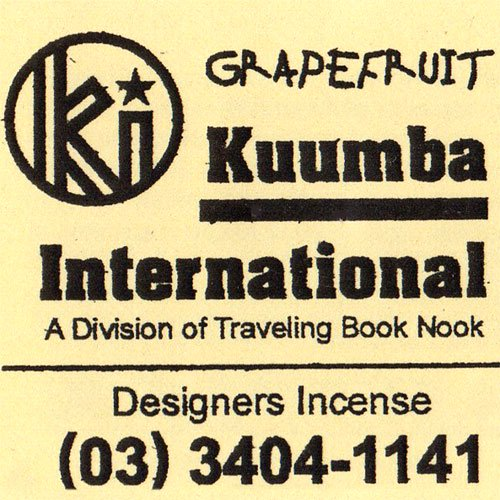 KUUMBA『incense』(GRAPEFRUITS)