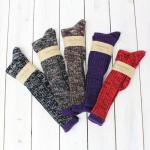 【会員様限定SALE】NEPENTHES Purple Label『Merange Sock Long/Purple Trim』