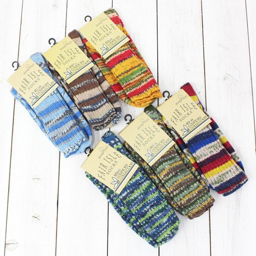 GRANGE CRAFT『MENS FAIR ISLE SOCKS』