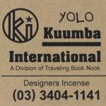 KUUMBA『incense』(YOLO)