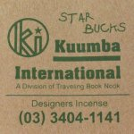 KUUMBA『incense』(STAR BUCKS)