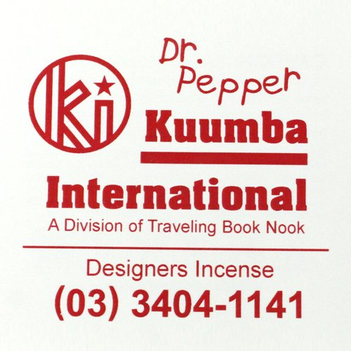 KUUMBA『incense』(Dr.Pepper)