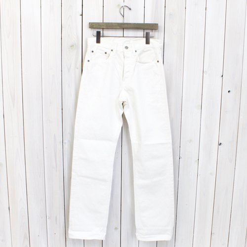 『STANDARD DENIM 5POCKET』(WHITE)