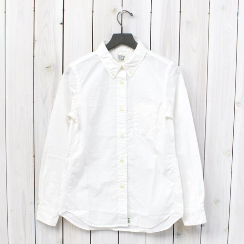 『BUTTON DOWN SHIRTS』(WHITE)
