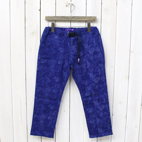 THE NORTH FACE PURPLE LABEL��W's Flower Print Stretch Twill Pants��(Navy)