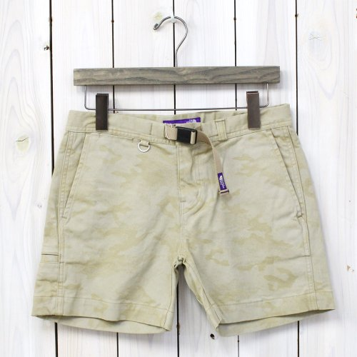 【SALE特価40%off】THE NORTH FACE PURPLE LABEL『Camouflage Weaving Belt Shorts』(Beige)