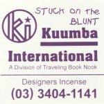 KUUMBA『incense』(STUCK on the BLUNT)