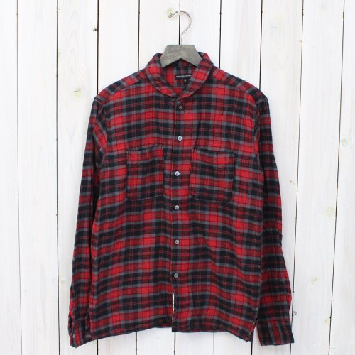 Engineered Garments『Lafayette Shirt-Rodeo Flannel』(Black/Red)
