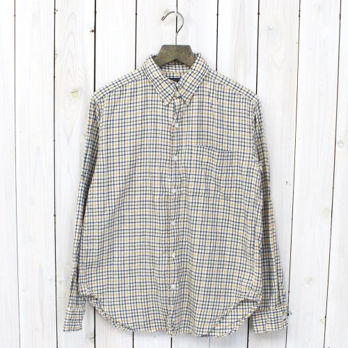 Engineered Garments『Tab Collar Shirt-Tattersal』(Eggshell)