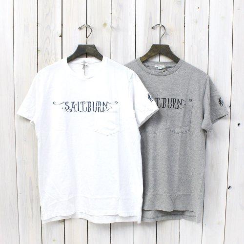 Engineered Garments『Printed Pocket T-Shirt-Salt Burn』