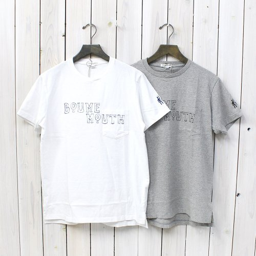 Engineered Garments『Printed Pocket T-Shirt-Boume Mouth』