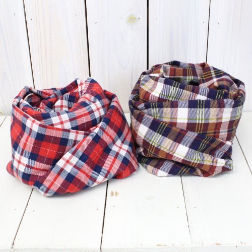Engineered Garments『Long Scarf-Brushed Twill Plaid』
