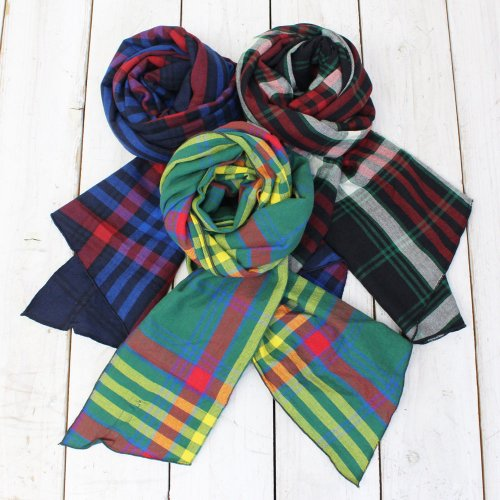 Engineered Garments『Long Scarf-Oversize Plaid』