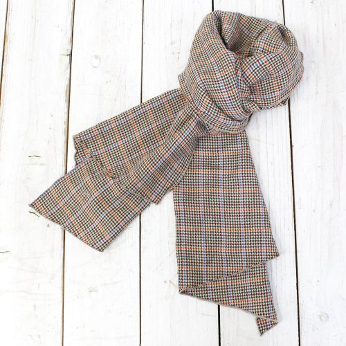 Engineered Garments『Long Scarf-Houndstooth Plaid』
