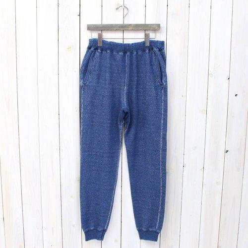 BLUE BLUE『インディゴ ラフスウェット パンツ』
