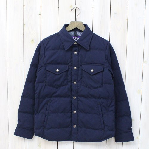 THE NORTH FACE PURPLE LABEL『65/35 Down Shirt』(Navy)