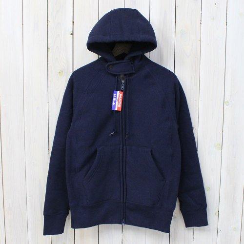 Engineered Garments Workaday『Workaday Raglan Zip Hoody』(Navy)