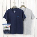 FRUIT OF THE LOOM×BLUE BLUE『VN 2PACK POCKET T』(B)
