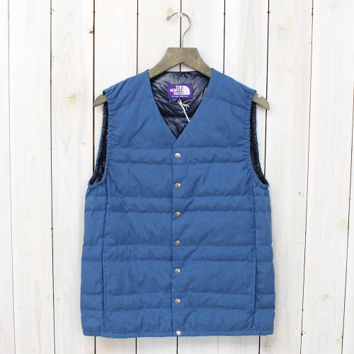 THE NORTH FACE PURPLE LABEL『Indigo Dyed Down Vest』