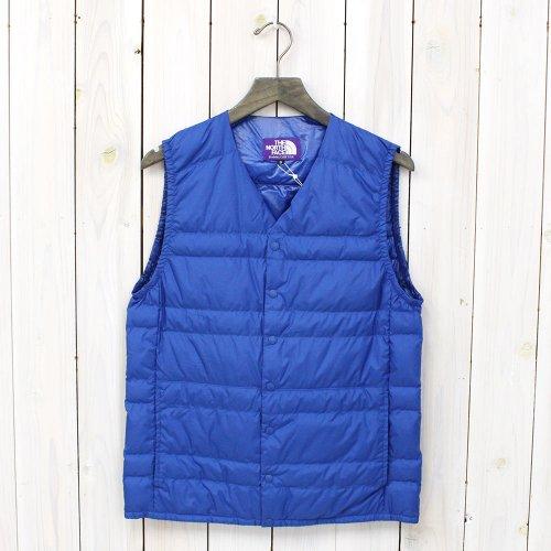THE NORTH FACE PURPLE LABEL『Down Vest』(Royal Blue)