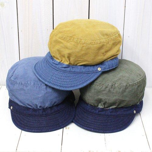 DECHO『CORDUROY&DENIM SERVICE CAP』