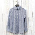 INDIVIDUALIZED SHIRTS『BRITISH STRIPE』(NAVY)