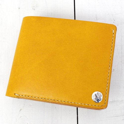 MOTO『W8 二つ折りウォレット(札+カードのみ)』(Yellow)