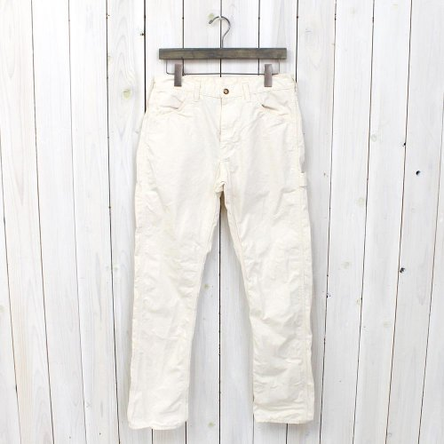 『SLIM FIT PAINTER PANTS』(ECRU)