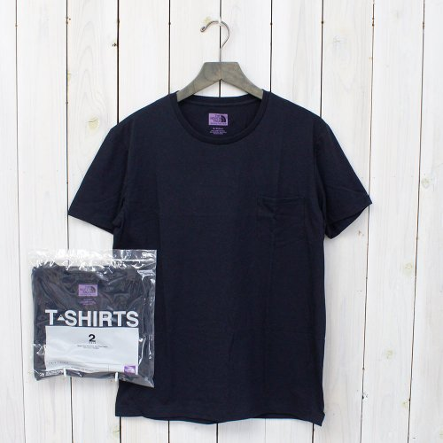 THE NORTH FACE PURPLE LABEL『COOLMAX® Pack Tee』(Navy)